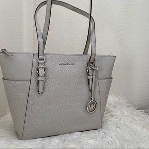 New Michael Kors Charlotte shoulder tote bag